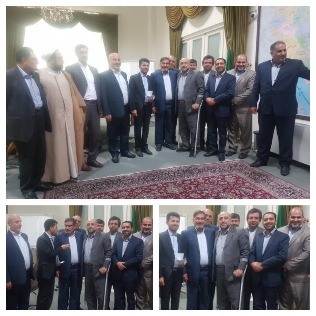 گزارش الباجی از نشست اضطراری نمایندگان خوزستان با دبیر شورای عالی امنیت ملی