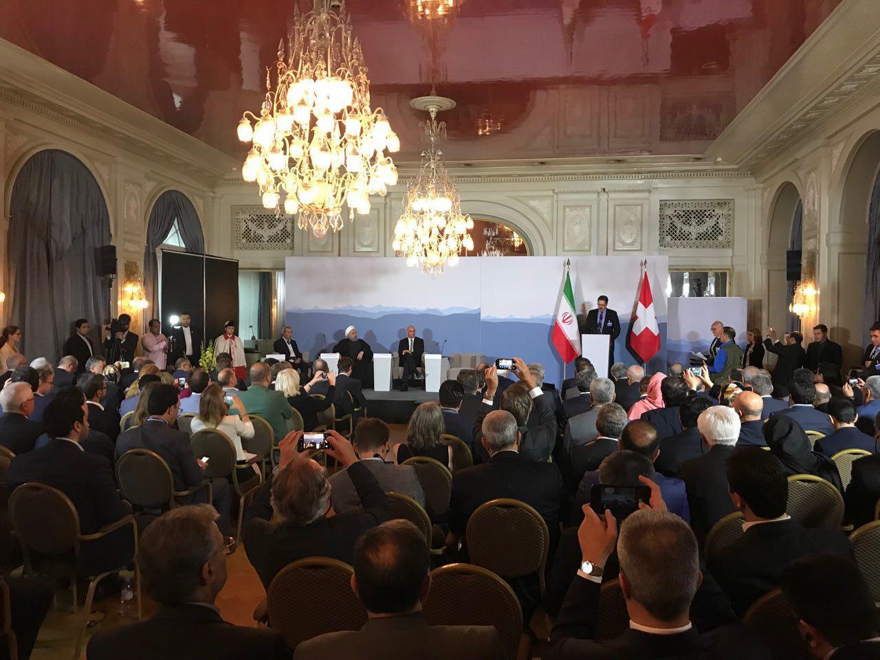رئیس جمهور سوئیس : برجام پیروزی بزرگ دیپلماسی است