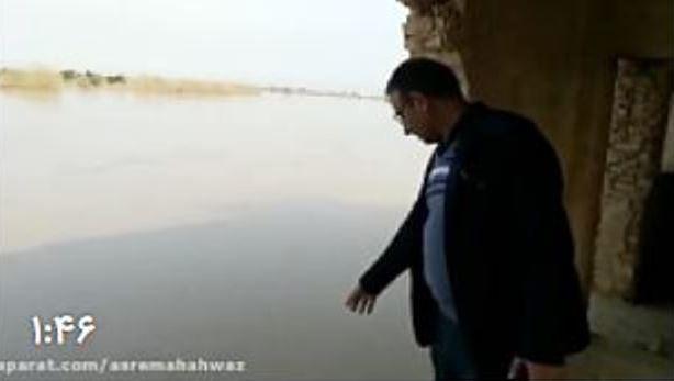 گزارش میدانی از روستاهای واقع در محاصره سیلاب رودخانه دز – ۲