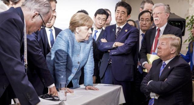 ترامپ و مرکل در مورد ایران و کره شمالی گفت و گو کردند