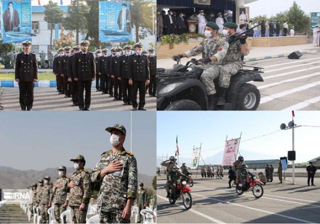 رژه روز ارتش؛ نمایش اقتدار ،توان رزمی و دفاعی ایران