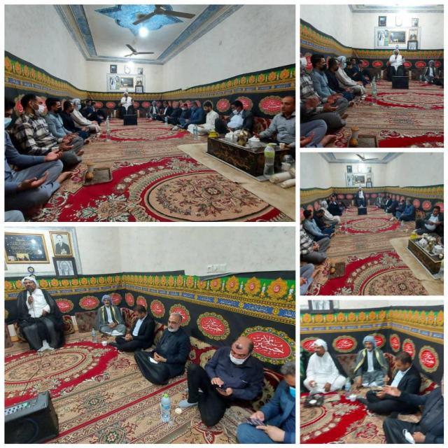 گزارش تصویری برگزاری مراسم سوگواری و احیاء شب نوزدهم رمضان در ملاثانی