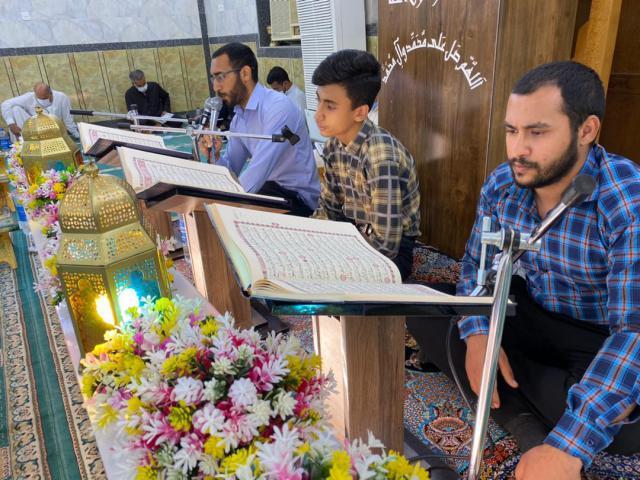 جلسات ختم و روخوانی قرآن کریم در مسجد محمد رسول الله (ص) اهواز + تصاویر