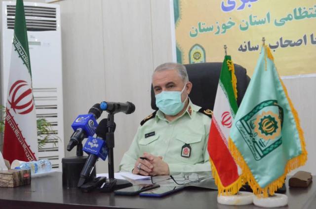 فرمانده انتظامی خوزستان از کاهش ۸۵ درصدی جرایم خشن در استان خبر داد