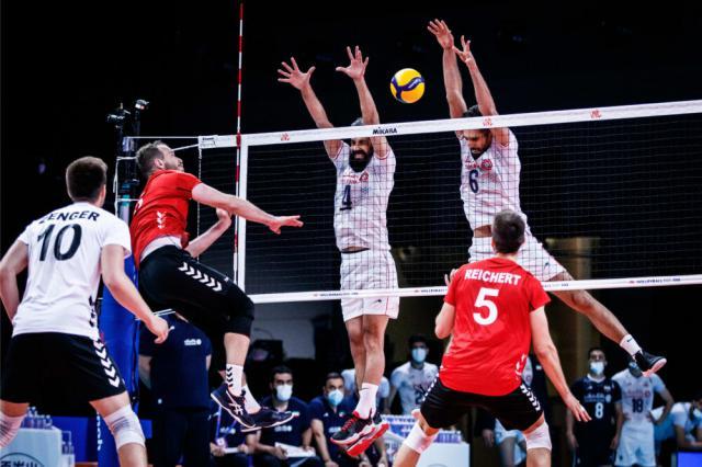 تیم ملی والیبال ایران مقابل آلمان شکست خورد