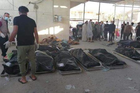 آمار قربانیان آتش سوزی بیمارستان الحسین (ع) عراق به ۹۲ تن رسید