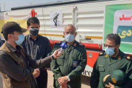 ورود قرارگاه محرومیت زدایی سپاه خوزستان برای رفع تنش آبی