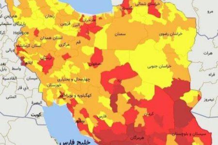 شوش تنها شهرستان قرمز کرونایی خوزستان