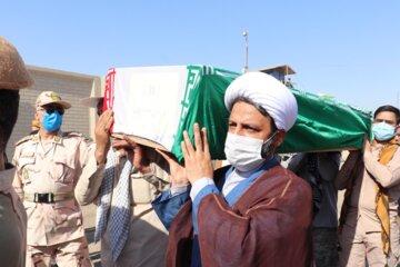 پیکر های ۴۳ شهید دفاع مقدس به کشور بازگشت