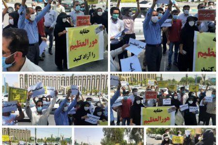 فریاد فعالان محیط زیست خوزستان : حقابه هورالعظیم را آزاد کنید