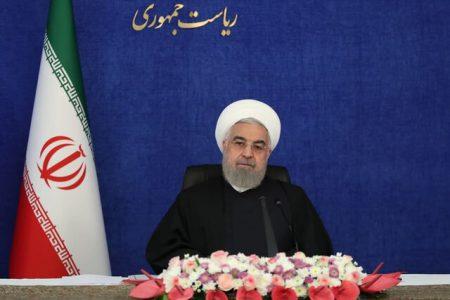 روحانی : توافق برای برجام با معیار فرمایشات مقام معظم رهبری قابل اجراست/ مصوبه مجلس مانع است
