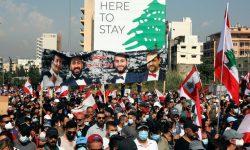 التهاب در بیروت در اولین سالروز انفجار بندر این شهر