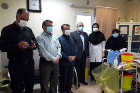 بازدید میدانی اعضای جمعیت تحول و توسعه گام دوم انقلاب از مرکز بهداشت شرق اهواز