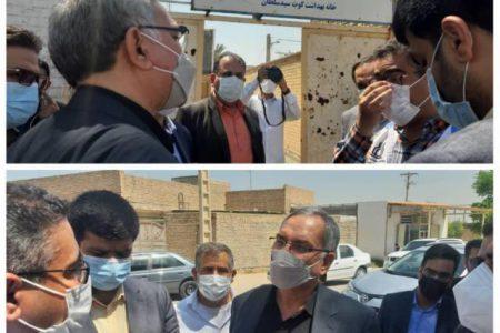 وزیر بهداشت و درمان در شیبان :  بهداشت ؛ اولویت نظام سلامت است