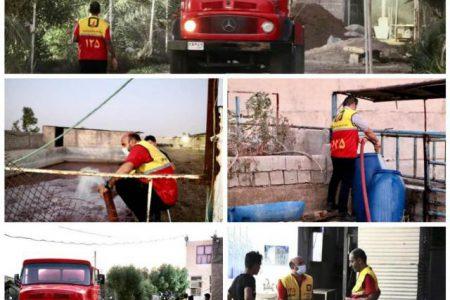 اقدام جهادی برای نشاندن آتش عطش روستای کوت سید شریف