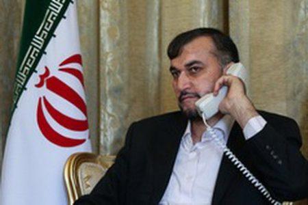 تاکید وزیر امور خارجه بر آمادگی ایران برای ادامه فروش سوخت به لبنان