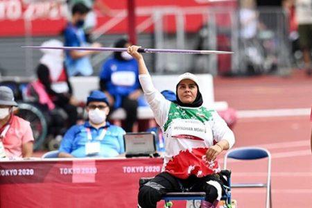 دختر ملاشیه اهواز بر بام قهرمانی جهان : اولین طلای بانوان ایرانی در توکیو بر گردن هاشمیه متقیان آویخته شد