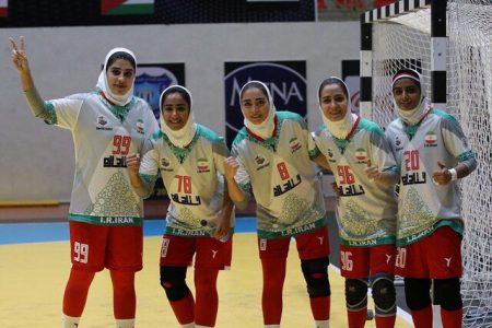 سومین برد تیم ملی هندبال زنان ایران در آسیا