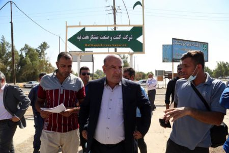 ناصری : دو ماه حقوق معوقه کارگران نیشکر هفت تپه پرداخت شد