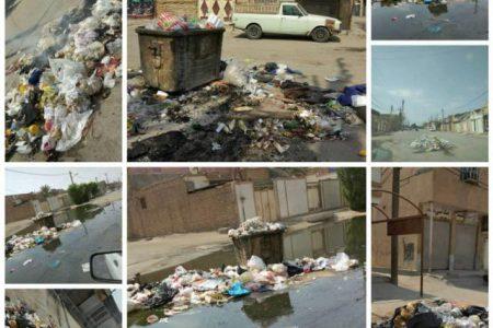 ساکنان غرب اهواز را از بوی تعفن زباله ها برهانید