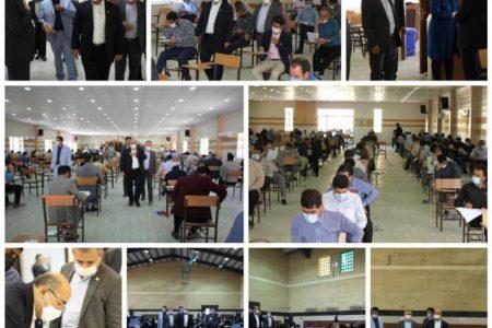 آزمون ملی وکالت در ۴ حوزه جداگانه و با مشارکت ۳۶۰۰ داوطلب خوزستانی برگزار شد