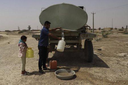 رنج روستاییان اروندکنار آبادان از شوری آب