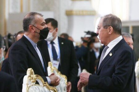 امیرعبداللهیان در تماس تلفنی با لاوروف گفتگو با مورا را مثبت توصیف کرد