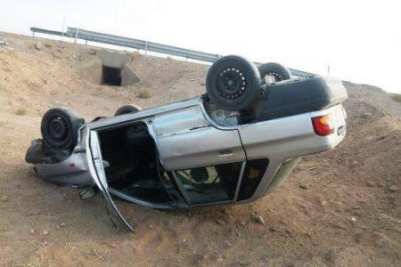 واژگونی خودرو در جاده بندرامام – آبادان پنج مصدوم داشت