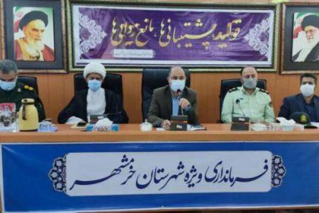 فرماندار: جلب اعتماد مردم خرمشهر برای مشارکت در واکسیناسیون ضروری است