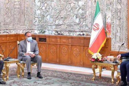 قالیباف بر توسعه همکاریهای اقتصادی ایران و ونزوئلا تاکید کرد